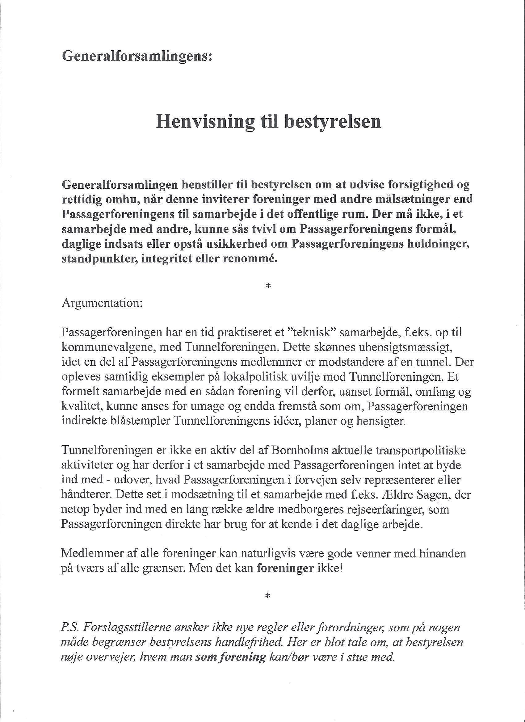 Henvisning fra Freddie Ottenheim m.fl. - forelægges 21. marts 2014